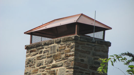 Custom Chimney Caps Mark Amp Buttons C S Inc