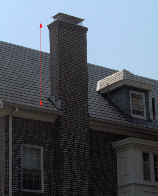 This Chimney Was Rebuilt From Roof Up Chimney17 02 01