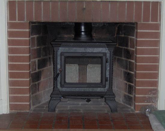 wood stove installation  s inc