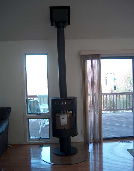 Wood Stove Installation Mark Amp Buttons C S Inc