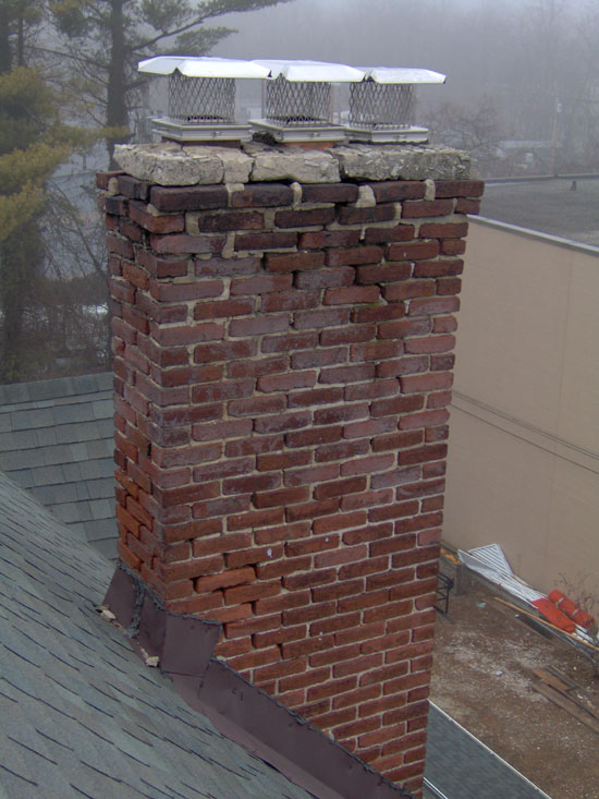 Chimney Crown Repair Mark Amp Buttons C S Inc
